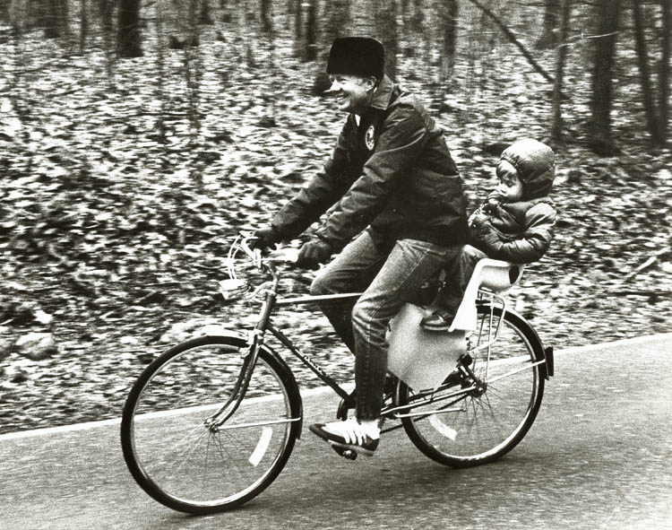 Barry Thumma - Ride with Grandpa (President Jimmy Carter and Grandson Jason)
