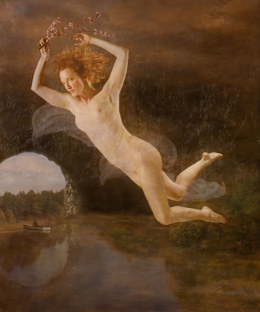 Claudia Kunin - Flight of Persephone (Female Nude)