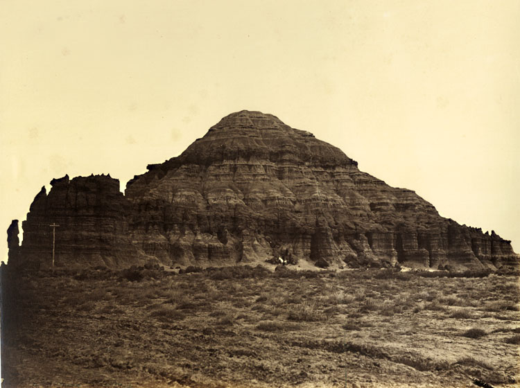 Andrew Joseph Russell - Church Buttes (Plate 26)