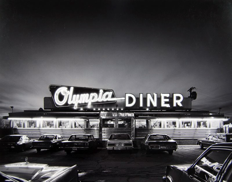 Tom Baril - Olympia Diner, CT