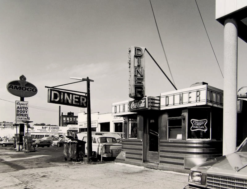 Tom Baril S Vintage Prints The American Diner