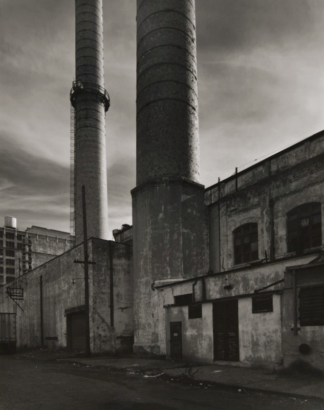 Tom Baril - Smoke Stacks, Brooklyn, NY