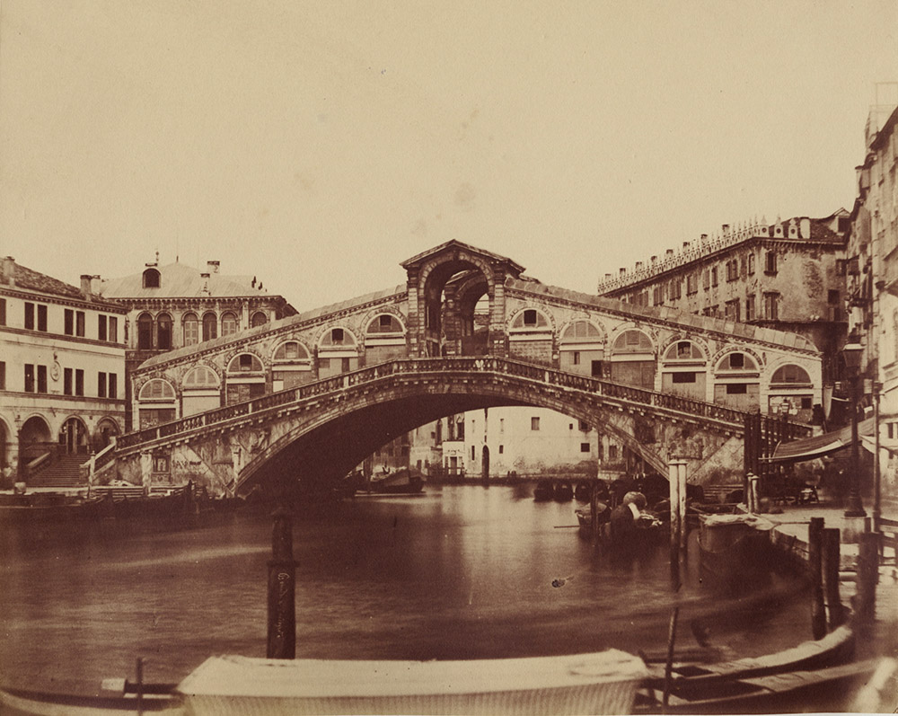 Francesco Bonaldi & Tarreghetta - Rialto Bridge in Venice, Italy