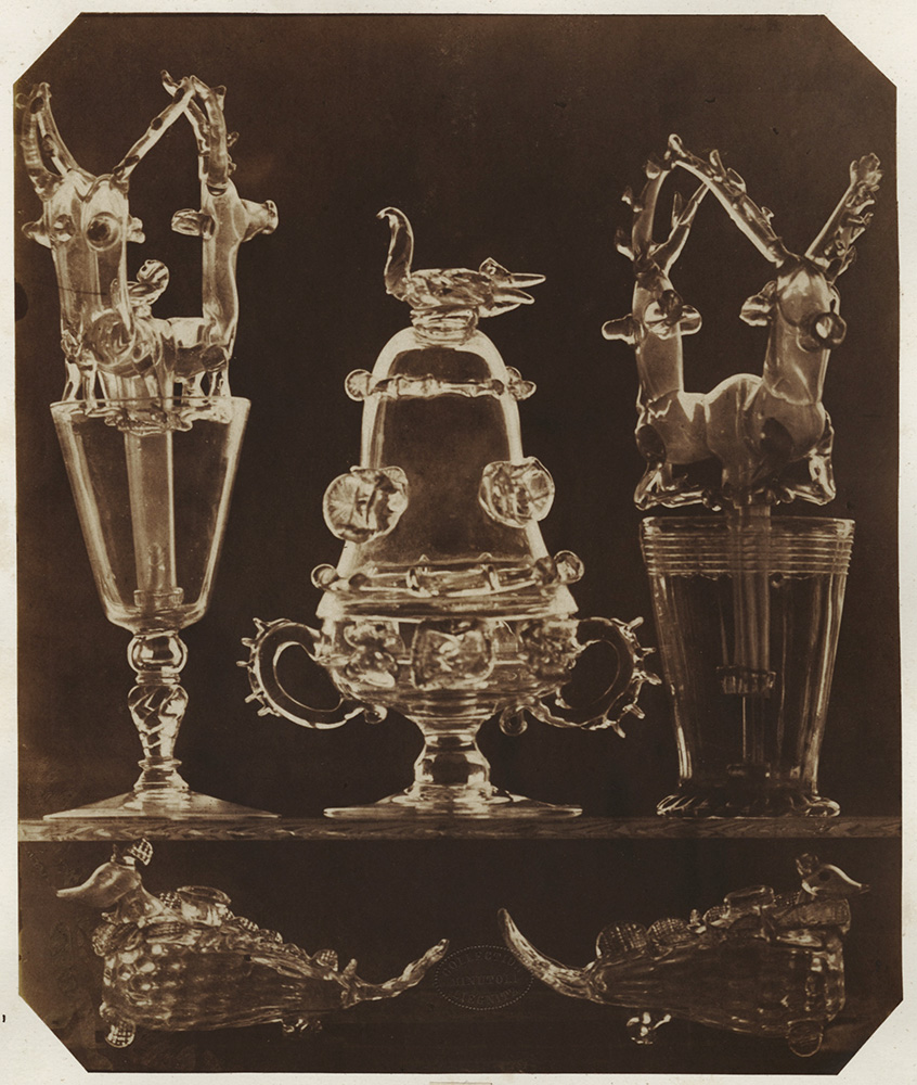 Ludwig Belitski - Glassware with Blown Glass Animals