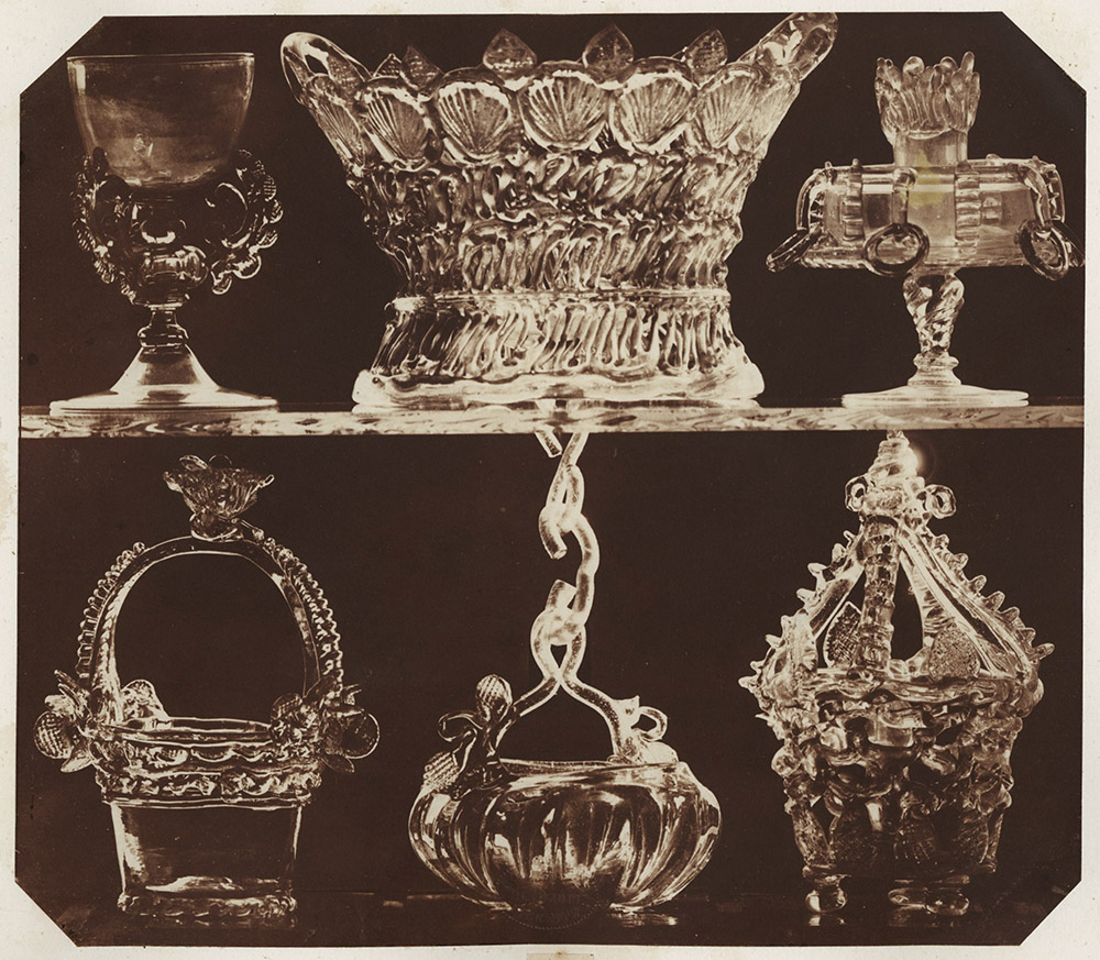 Ludwig Belitski - Glass Baskets, etc.