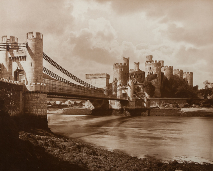 Adolphe Braun & Co. - Conwy Castle in Wales