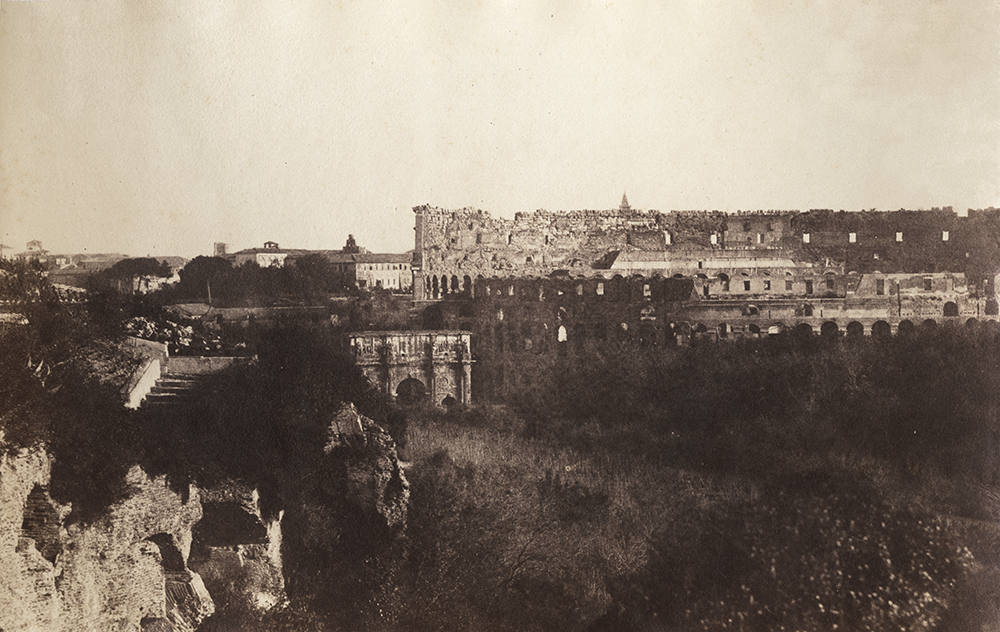 Gustave Le Gray/Firmin-Eugène Le Dien - Rome with Colosseum in the Distance