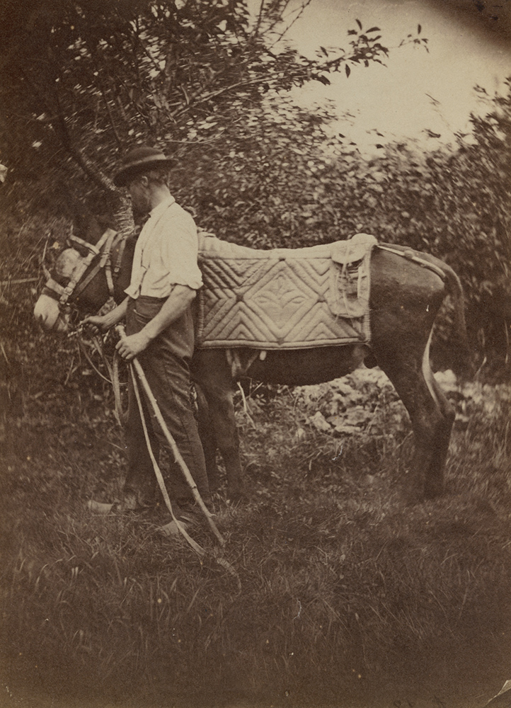 Auguste Giraudon's Artist - Man with a Donkey