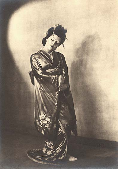 Helen Pierce Breaker - Actress Frances Stack in Japanese Costume