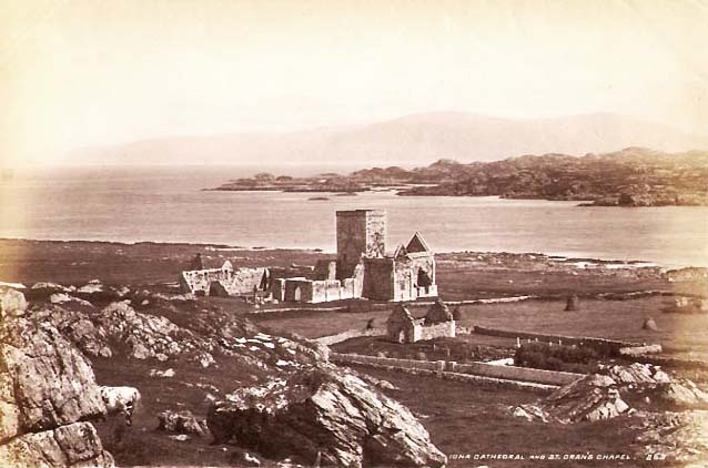 James Valentine - Ruins of Iona Cathedral and St. Oran's Chapel