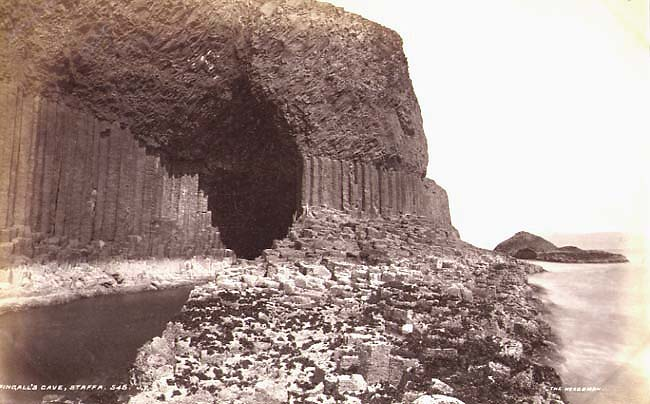 James Valentine - Fingall's Cave, Staffa; The Herdsman