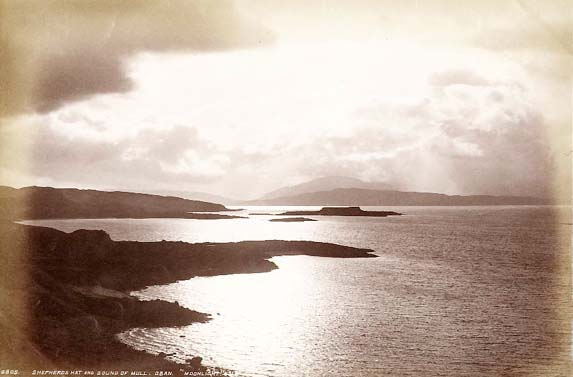 "James Valentine - Shepherd's Hat and Sound of Mull, Oban: ""Moonlight"""