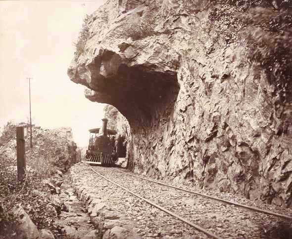W. L. H. Skeen - Overhanging Rock, Colombo to Kandy Railway