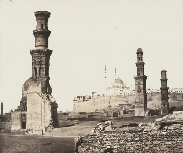 Anton Schranz - The Citadel with Mosque and Ruins, Cairo, Egypt