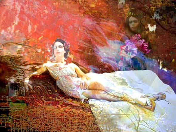 Lisa Holden - Reclining II